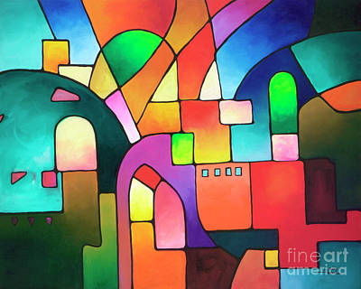 Painting - Urbanity by Sally Trace