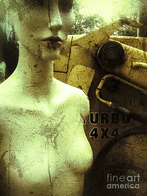 Science Fiction Photograph - Urbo  by Steven Digman