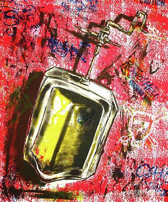 Printmaking Mixed Media - Urinal by George Stockner