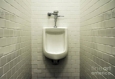 Pissing Photograph - Urinal by John Greim