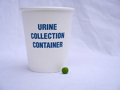 Photograph - Urine Trouble With That Pea by Richard Reeve
