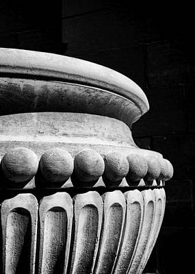 Urn At The Cathedral Art Print