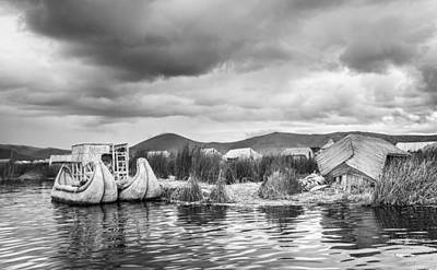 Photograph - Uros Floating Island by Gary Gillette