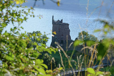 Photograph - Urquhart Castle #1 by Elvis Vaughn