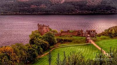 Photograph - Urquhart Castle At Loch Ness 3 by Joan-Violet Stretch