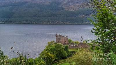 Photograph - Urquhart Castle At Loch Ness by Joan-Violet Stretch