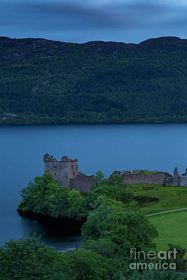 Photograph - Urquhart Castle Evening by Brian Jannsen