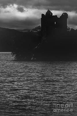 Loch Ness Photograph - Urquhart Castle On Loch Ness by Diane Diederich
