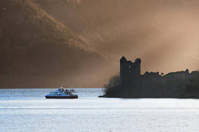 Photograph - Urquhart Castle by Veli Bariskan