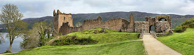 Photograph - Urquhart Castle Panorama by Paul DeRocker
