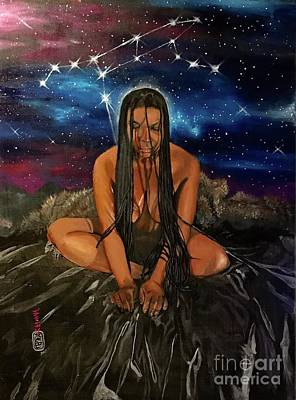 Painting - Ursa Major by Baroquen Krafts