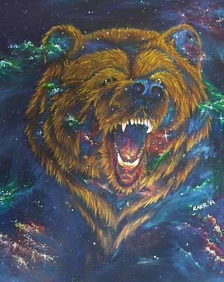 Constellations Painting - Ursa Major by Kimberly Rasar