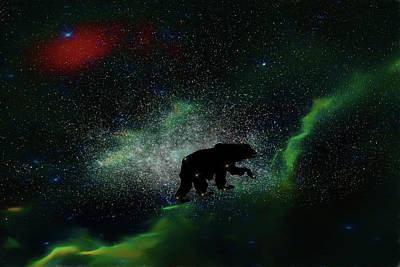 Digital Art - Ursa Maximus by John Haldane