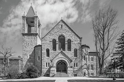 Diploma Photograph - Ursinus College Bomberger Hall by University Icons