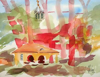 Methodists Painting - Ursuline Impressions by Kip DeVore