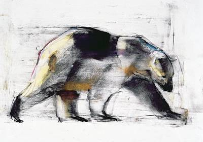 Bear Painting - Ursus Maritimus by Mark Adlington