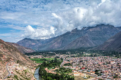 Photograph - Urubamba by Maria Coulson