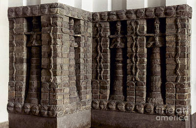 Photograph - Uruk: Innin Temple Facade by Granger