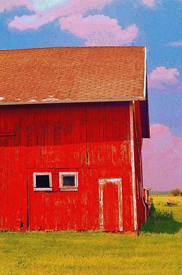 Photograph - Us 2 Barn Portrait  by Daniel Thompson