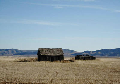 Robert Morrissey Photograph - Us 30 Idaho Cabin Revisited by Robert Morrissey