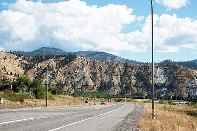 Photograph - Us 97 East by Tom Cochran