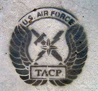 Stencil Art Photograph - Us Air Force - Tacp by Unknown