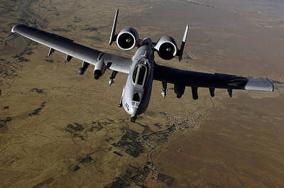 U.s. Air Force A-10 Thunderbolt Print by Stocktrek Images