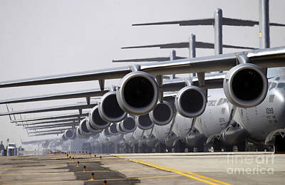 Photograph - U.s. Air Force C-17 Globemaster IIis by Stocktrek Images