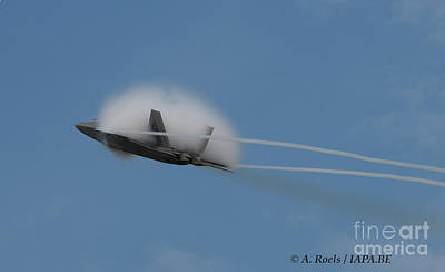 Photograph - Us Air Force F-22 Raptor  #004 by Antoine Roels