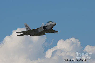 Photograph - Us Air Force F-22 Raptor by Antoine Roels