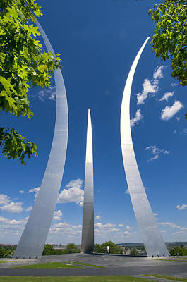 U.s. Air Force Memorial Art Print by Jim Moore