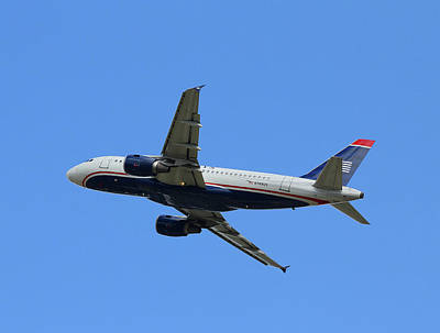 Photograph - Us Airways Airbus N749us by Joseph C Hinson Photography