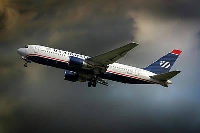 Airways Photograph - Us Airways Boeing 767-201 by Nichola Denny