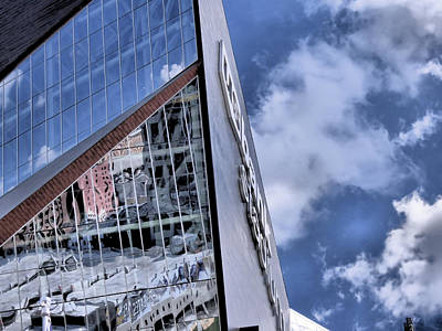 Photograph - Us Bank Stadium by Kyle West