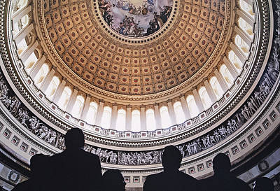 Photograph - U. S. Capital Rotunda by Doug Davidson