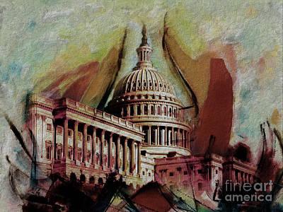 Capitol Building, Washington, D.c-004 Original