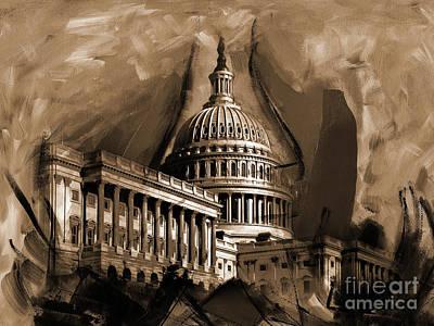 Capitol Building, Washington, D.c-001 Original