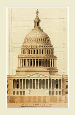 Photograph - U.s. Capitol Building 1 by Andrew Fare