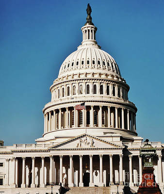 Photograph - Us Capitol by D Hackett