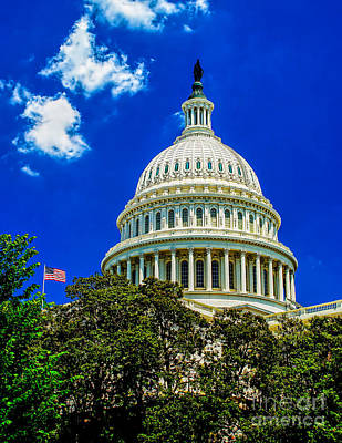 Photograph - Us Capitol Dome by Nick Zelinsky