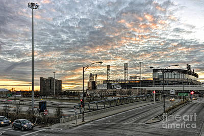 Photograph - Us Cell Sunset by Steven K Sembach