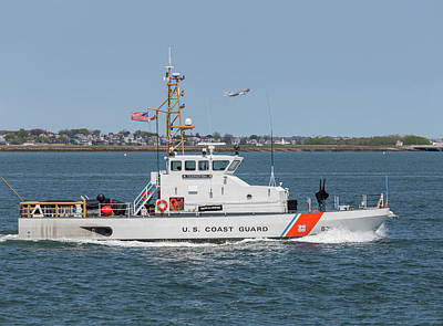 Photograph - Us Coast Guard Cutter Flyingfish by Brian MacLean