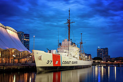 Photograph - Us Coast Guard Cutter Taney by Ryan Wyckoff