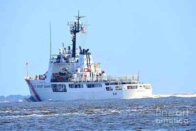 Photograph - Us Coast Guard  - Diligence by Shelia Kempf
