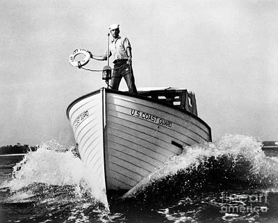 Photograph - Us Coast Guard by Granger