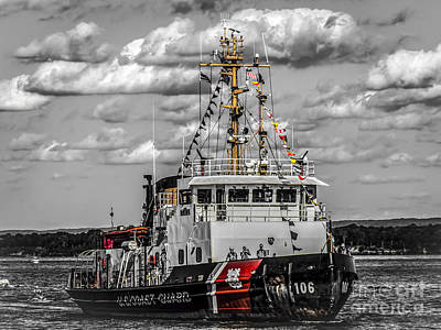 Digital Art - Us Coast Guard by Kathryn Strick