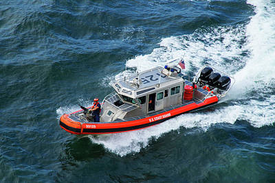 Photograph - U.s. Coast Guard Patrol by Arthur Dodd