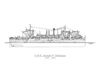 Ship Digital Art - U.s. Coast Guard Fs 550 by Jose Elias - Sofia Pereira
