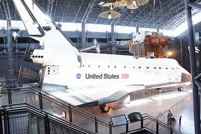 Enterprise Photograph -  First Space Shuttle Enterprise by Art Spectrum