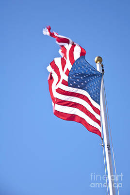 Photograph - Usa Flag by Glenn Gordon